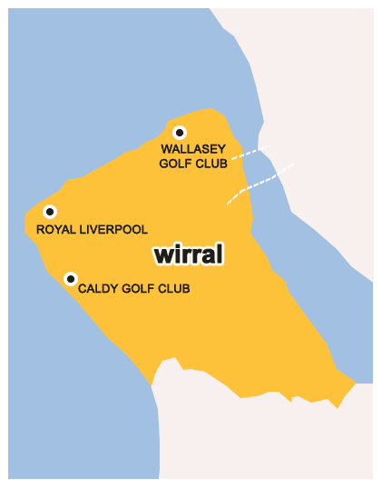Wirral Map